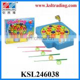 kids plastic children play fishing set