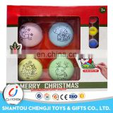 Promotion gift funny christmas balls plastic manufacturer