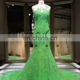 New Green Mermaid Ball Gown Custom Made Bridal Gown Fish Style Wedding Dress Tiamero 1A846