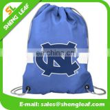 Factory direct promo custom printed polyester drawstring bag