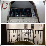 Decorative Iron stair balustrade