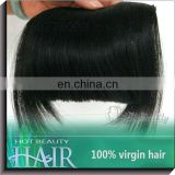 Virgin Brazilian Real Human Hair Bangs