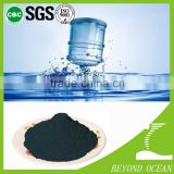 Special wood activated carbon for color removal