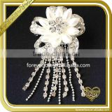 Fancy acrylic flower brooch bouquet wedding brooch for women dress FB-028