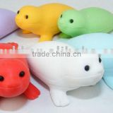 Mini Animal Sea-lion shaped eraser,rubber 3d eraser