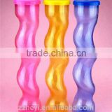 palm tree yard slush ice cup plastic yard cup for drinking