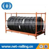 Adjustable steel truck tire rack for sale