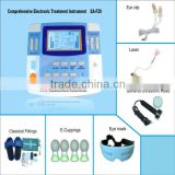 EA-F29 physiotherapy massager therapeutic apparatus with ultrasound and laser therapy