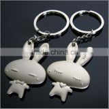 Promotional gifts metal key chain/custom cartoon, plastic, PVC, silicone, metal key chain