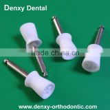 White Dental Disposable Prophy Brush /Cup Latch Screw Snap type