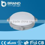 new design warm white hot sale ce rohs new round IP65 energy saving LED ceiling light