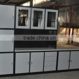 Luoyang Factory affordable modern knock down steel kitchen cabinets