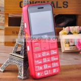 Newest design healthy care GSM Mobile phone with 2000mah big battery cell phone hot sell for senior people