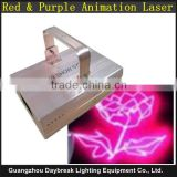 Red Purple Laser Light Animation Laser Rose Red Color DMX512 AC110-240V 300MW -- 1000MW