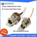 "Bulk buying TNC Female Jack Connector Switch N Female Jack Connector RG316 15CM 6"" Adapter"