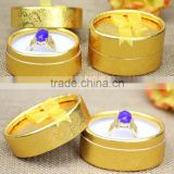 AN1055 ANPHY round paper ring box with bowknot