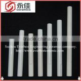High Purity white Alumina ceramic tube/ceramic rods in proferssor manunfacturer in China.