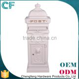 The Most Popular Style In Europe Chengfengoem&Odm Residential Outdoor Garden Aluminum Mailboxes From China