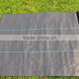 black small roll woven fabric tarpaulin for waterproof garden and flower farm coverage to control grass growth