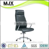 black real leather CEO office chair