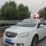hot Promotion P6mm outdoor taxi/bus video led open traffic sign best solution