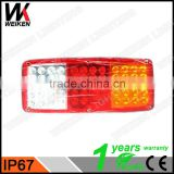 WEIKEN Automobile truck accessories car spare parts led ranger tail light led rear light