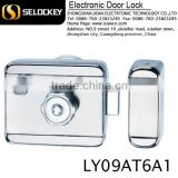 Multidirectional remote controlled lock for fire door glass door