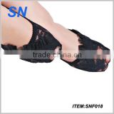 new design SN factory custom spring funky sex black ankle socks