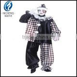 Adult male funny clown costumes,funny dress for carvinal