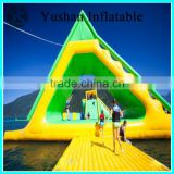 Water Park games PVC cheap inflatable water toys inflatable lake water slide
