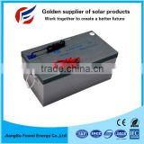 New High Quality 12v 250ah Solar Valve Regulated Lead Acid Gel Battery Deep Cycle Battery/ups Battery
