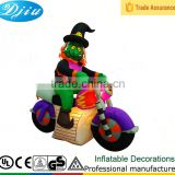 DJ-XT-116 wholesale carnival halloween decoration broom witches magic driving motorcycle