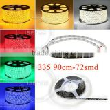 Side glowing 335 LED strip for car headlight