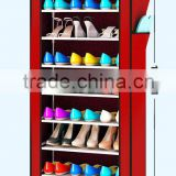Storage shoe rack designs waterproof cover cloth dust-proof shoe rack