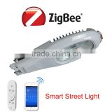 Intelligent system managerment smart zigbee street light with sensor