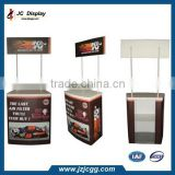 PVC/Plastic Pop Up Exhibition Display Table In China