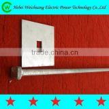 High Quality Pole Line Hardware Adjustable Stay Rod/Stay Bow Washer ,Thimble Included for Overhead Line Fitting