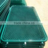 PE coated/stainless/ PVC coated/hot-dipped galvanized /chain link mesh/hebei anping tuosheng fanctory