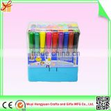 Cheap Good Quality Eco Friendly Multicolor Plastic Ballpoint Water Color Pen