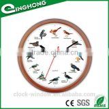 Fashion high quality cuckoo sound wall clock