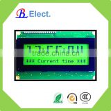 character dot matrix digital wall clock display lcd module