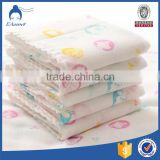 100% Cotton Muslin Baby Bamboo Cloth Super Soft 120X120cm After Washed