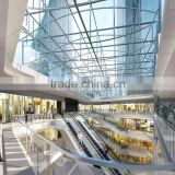 Glass manufacturer low-e laminated building construction glass panel for railing,balcony,panels