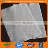 white rayon/polyester spunlace nonwoven printed fabric for wet towel made in china                                                                         Quality Choice