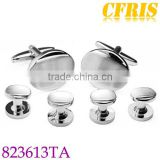 Wholesale Blank Cufflink and studs set