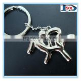 3D dance gifts keyring wholesale dancing ballerina keychain for souvenir gifts