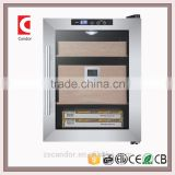 Candor: High End Thermo Electronic Cigar Humidor loading 250pcs Cigar /Spanish Cedar Shelf/ ETL, CE, Rohs approvals CH-33