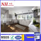 Scratch resistant kitchen furniture wood paint