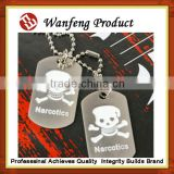 Promotional Christams Gift antique silver blank sublimation bone shape dog tag name tag
