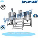 Sipuxin Chemical Liquid Shower Gel Filling Mixer And Blending Tank Machine